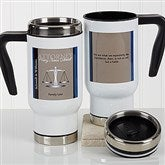 Legal Ease Personalized Quote Commuter Travel Mug - 17260
