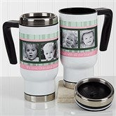 Photo Message to Her Personalized Commuter Travel Mug - 17263