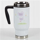 First Time Grandma Personalized Commuter Travel Mug - 17265