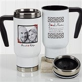 Soul Mates Personalized Photo Commuter Travel Mug - 17266