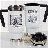 Soul Mates Personalized Photo Commuter Travel Mug - 17266