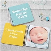 Baby Keepsake Soft Cover Mini Photo Book- Brights - 17276-B