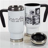 They're Worth Spoiling Personalized Photo Commuter Travel Mug - 17282
