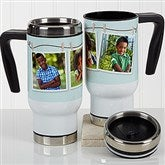 3 Photo Collage Personalized Commuter Travel Mug - 17283