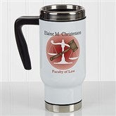 Coffee & Counsel Personalized Travel Mug - 17284