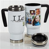 They're Worth Spoiling Personalized Photo Commuter Travel Mug - 17287
