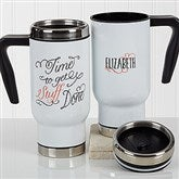 Daily Cup of Inspiration Personalized Travel Mug - 17291