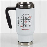 Love Always Wins! Personalized Travel Mug - 17293