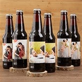 Thank You Wedding Photo Personalized Beer Bottle Labels- Set of 6 - 17297