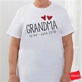 Grandma Established Personalized Hanes® T-Shirt - 17305-T
