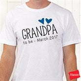Grandpa Established Personalized Hanes® T-Shirt - 17307-T