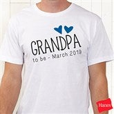 Grandpa Established Personalized Hanes® T-Shirt - 17307-T