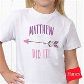 Who's To Blame! Personalized Hanes® Youth T-Shirt - 17312-YCT