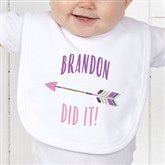Who's To Blame! Personalized Infant Bib - 17312-B