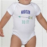 Who's To Blame! Personalized Baby Bodysuit - 17312-CBB