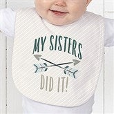 Who's To Blame! Personalized Baby Bib - 17312-B