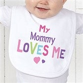 You Are Loved Personalized Infant Bib - 17314-B