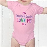 You Are Loved Personalized Baby Bodysuit - 17314-CBB