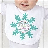 Baby's 1st Christmas Personalized Bib - 17318-B