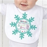 Baby's 1st Christmas Personalized Bib - 17318-B