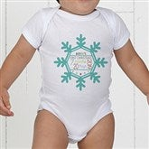 Baby's 1st Christmas Personalized Baby Bodysuit - 17318-CBB