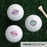 Sassy Lady Personalized Golf Ball Set - Nike Mojo® Extremely Long - 17322-NM