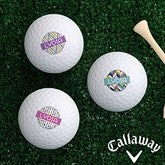 Sassy Lady Personalized Golf Ball Set - Callaway® Warbird Plus - 17322-CW