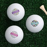 Sassy Lady Personalized Golf Ball Set - Non Branded - 17322-B