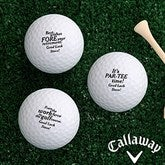 Retirement Personalized Golf Ball Set - Callaway® Warbird Plus - 17323-CW