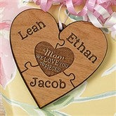 We Love Her To Pieces Personalized Gift Topper - 17334