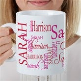 Signature Style For Her Personalized 30oz. Mega Coffee Mug - 17336