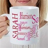 Signature Style For Her Personalized 30oz. Oversized Coffee Mug - 17336