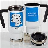 Top Dog Personalized Travel Mug - 17342