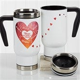 We Love You To Pieces Personalized Travel Mug - 17353
