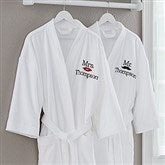 Better Together Mr/Mrs. Embroidered Couple's Robe Set - 17392-M/M