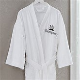 Better Together Mr. Embroidered Robe - 17392-MR
