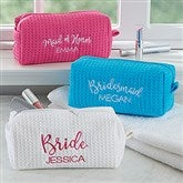 Bridal Party Embroidered Make-up Bag - 17394-B