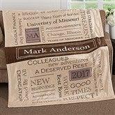 My Retirement Personalized 50x60 Fleece Blanket - 17405