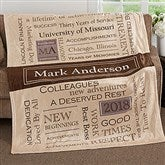 My Retirement Personalized 60x80 Fleece Blanket - 17405-L