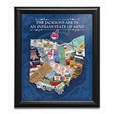 Baseball State of Mind Personalized MLB Framed Sports Print - 17409D