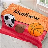 Just For Him Personalized 60x80 Fleece Blanket - 17432-L