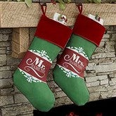 The Happy Couple Personalized Christmas Stocking - 17454