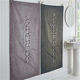 The Heart of Our Home Personalized Bath Towel - 17458