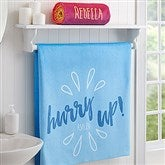 Morning Motivation Personalized Bath Towel - 17472