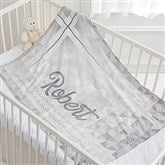 May You Be Blessed Personalized Christening Fleece Blanket - 17482