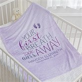 You Took Our Breath Away Personalized Fleece Blanket - 17483