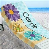Just For Her Personalized Beach Towel - 17485