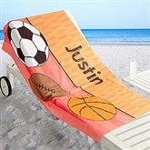 Just For Him Personalized Beach Towel - 17486