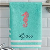 Nautical Personalized Hand Towel - 17532