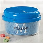 Just Me Toddler Personalized Snack Cup- Blue - 17539-B